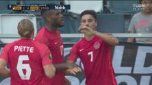 ¡Tercer gol de Canadá! Cyle Larin marca el 3-1 con el penalti