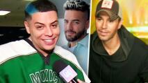 Grupo Firme confirma que grabó dos temas con Maluma y ahora Enrique Iglesias se suma a su lista de fans