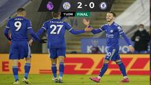 Leicester City toma el liderato de la Premier a costa del Chelsea