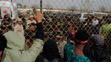 Fuerte custodia militar y policial en la ciudad fronteriza de Piedras Negras por la llegada de más de 1,700 centroamericanos