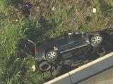 Graves madre y niño de 8 años al volcarse un vehículo al noreste de Houston