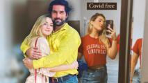 """Arturo Carmona cumple el deseo de volver a abrazar a su hija Melenie ahora que está """"libre de covid"""""""