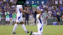 Con gol tardío, Cruz Azul supera a Pachuca en Fresno