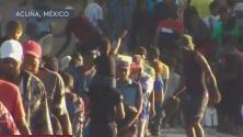 Cerca de 12,000 migrantes se aglomeran en el puente fronterizo de Texas