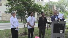 Alcalde de Austin y representantes del condado Travis dan a conocer plan de vivienda para indigentes