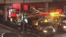 Accidente de un camión en la Gowanus Expressway provoca inconvenientes de tránsito