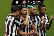 El Atlético Mineiro rescató su racha invicta con remontada