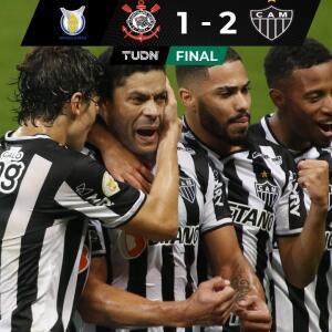 Resumen y goles | Con doblete de Hulk, A. Mineiro venció a Corinthians