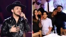 """Nodal se enfrentó a su padre para cumplir sus sueños: """"no quería que fuera cantante""""."""