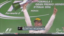 Nico Rosberg se acerca a Lewis Hamilton en el campeonato de Fórmula Uno