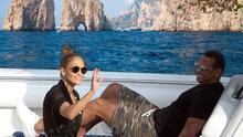 Jennifer Lopez y Alex Rodríguez comparten sus vacaciones en Italia