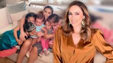 Jacky Bracamontes muestra su estrategia infalible para dormir temprano a sus 5 hijas