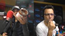 Argelia hizo que Omar probara la Nutella al aire