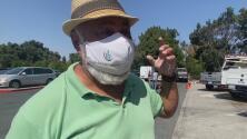 """""""Caliente como el infierno"""": trabajadores sufren por la ola de calor en el Área de la Bahía"""