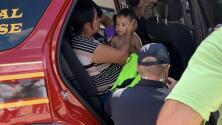 """""""Es un milagro"""": encuentran sano y salvo a Christopher Ramírez, el niño que estuvo perdido por más de 72 horas en Texas"""