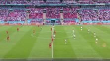 Resumen del partido Inglaterra vs Dinamarca