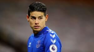 """James Rodríguez se distancia de Everton: """"No sé contra quién juegan"""""""