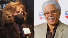 """""""Le pedí que no se fuera del lado mío"""": esposa de Johnny Pacheco en el funeral del músico"""