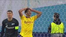 ¡No resuelve! Bellingham se lamenta al perderse el empate del Dortmund