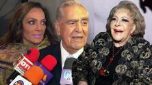 """Hija de Eric del Castillo le reclama frente a cámaras a su papá por decir que Silvia Pinal """"estaba riquísima"""""""