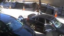 Video: En un intento de escape, ladrones atropellan a un policía