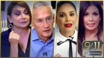 """""""Estaba respirando a los que habían fallecido"""": los conductores de Univision reviven el 9/11"""