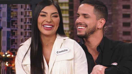 La conexión entre Camila y Mark es tan fuerte que hasta los nervios los traicionan