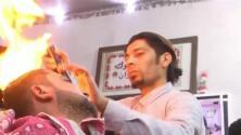 El peluquero palestino que está revolucionando el oficio de cortar el cabello