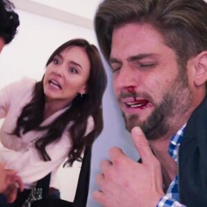 Renata detuvo una violenta pelea entre su hermano y Alonso