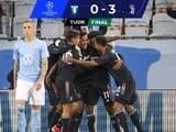 Juventus resuelve encuentro ante el Malmo en una mitad e inicia como líder de grupo en UCL