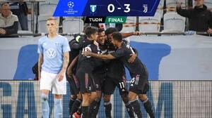 Juventus golea al Mamo e inicia como líder de grupo en Champions