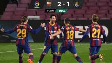 Barcelona le pega a la Real y le tumba el liderato
