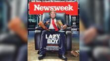 Donald Trump como un ''chico holgazán'', la polémica portada de la revista Newsweek