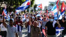 La Torre de la Libertad se convierte en escenario de una nueva protesta por la libertad de Cuba