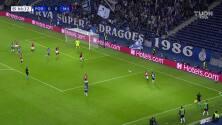 ¡Por fin! ¡Gol del Porto! Luis Díaz abre a la defensa del AC Milan