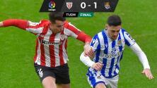 La Real Sociedad se lleva el Derbi Vasco ante el Athletic de Bilbao