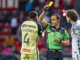América, inconforme con arbitraje en derrota ante Toluca; pedirán habilitar a Cáceres