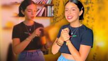 Ángela Aguilar muestra el regalo de un admirador que le fascina y atesora en su cuarto