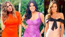 Lili Estefan, Francisca y Pamela Silva se fueron a México a una boda y así lucieron de glamurosas