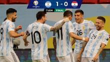 Con lo mínimo, Argentina derrota a Paraguay y ya está en Cuartos de Final