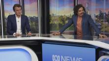 Un inusual terremoto en Australia sorprende a estos presentadores durante un programa de televisión en vivo