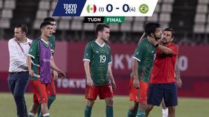 ¡Malditos penales! Brasil derrotó a México y buscará el Bronce olímpico