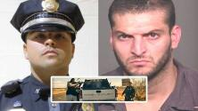 (Video) Cámaras policiales captan momento en que traficante de drogas mata a oficial y se da a la fuga