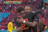 ¡Corazón de León! Depay culmina contragolpe de Holanda para el 1-0