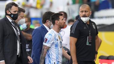 """""""No era el momento"""": suspenden el clásico sudamericano Argentina-Brasil por presuntas violaciones a normativas covid"""