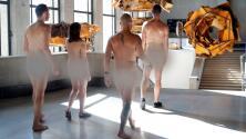 Arte al desnudo: nudistas logran entrar por primera vez a un museo de París