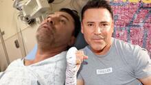 Óscar de la Hoya se encuentra en un hospital tras dar positivo a covid-19 y no ha necesitado oxígeno