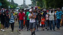 """""""Pienso en el sueño americano"""": caravana migrante se prepara para avanzar de Chiapas a la frontera de EEUU"""