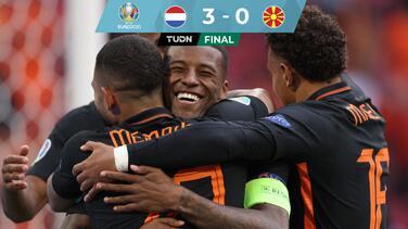 Golea, gusta y gana... Holanda avanza con paso perfecto a Octavos