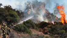 ¿Cuáles son los riesgos que representa el cambio climático en las comunidades del condado de Los Ángeles?